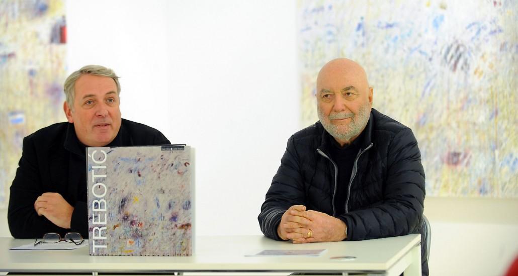Split, 16.12.2015 - U Galeriji umjetnina održana je konferencija za novinare u povodu izložbe