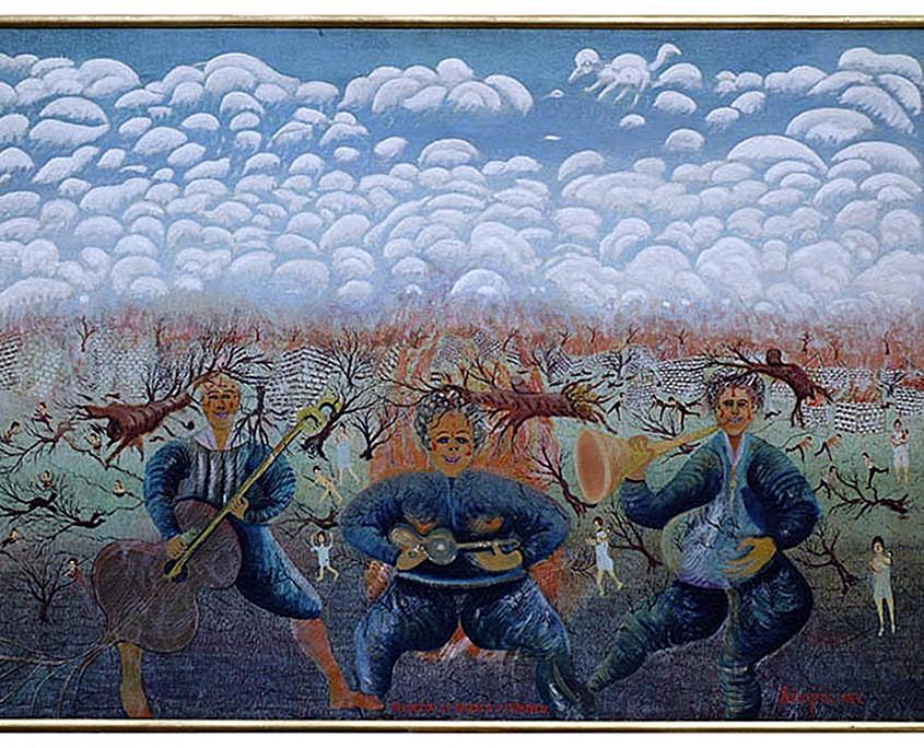 8.tri brata zasvirala u atomske svirale.1964.73x100