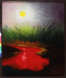 Crvena voda,1995.staklo