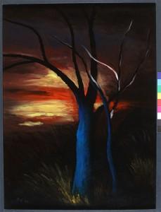 Zalaz sunca,1995.staklo